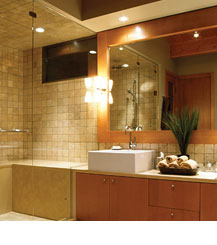 recessed lighting over shower. tub and shower lighting recessed over