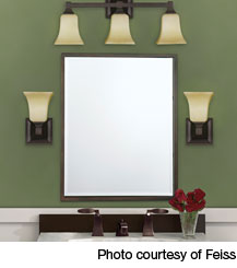 large bathroom mirror bathroom lighting fixtures over mirror