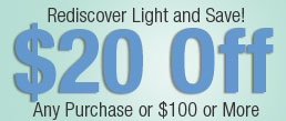 Lighting by the Sea - $20 Off Lighting Coupon