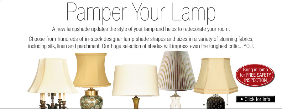Lighting by the Sea - Seacoast\'s largest selection of lamp shades