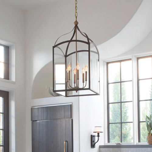 How to size a chandelier