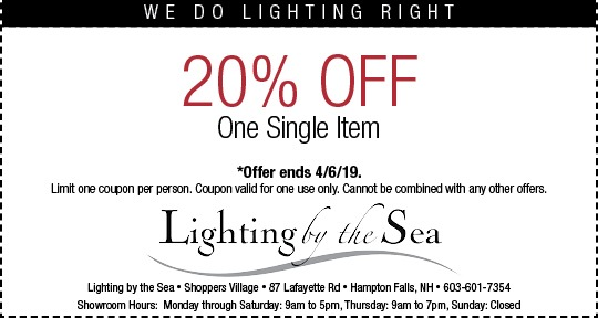 Lighting Coupon By The Sea